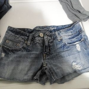 American Eagle size 2 jean shorts